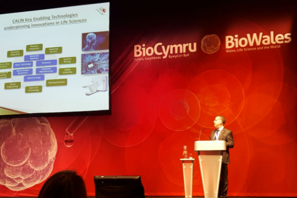 Tyndall represented at BioWales conference