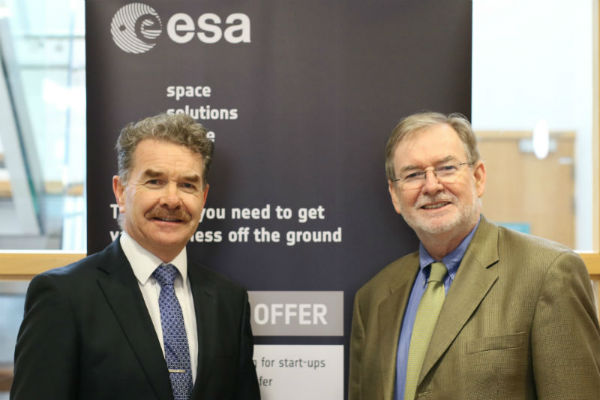ESA space solutions centre Ireland stakeholders