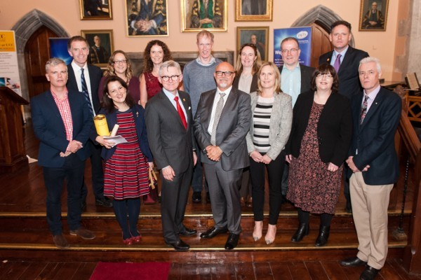 Tyndall winners at UCC Staff Recognition and Research Awards