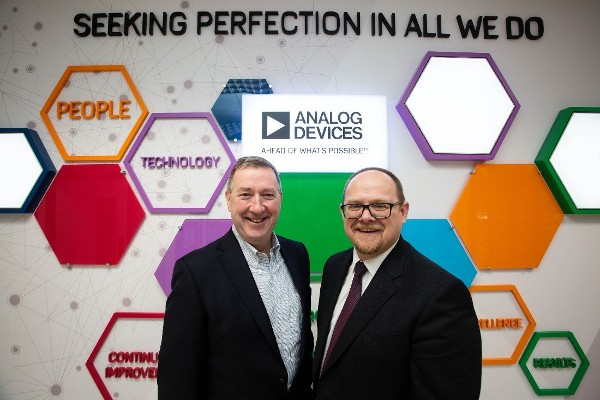 Analog Devices and Tyndall Sign Strategic Research Partnership