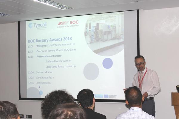BOC Gases Bursary Award 2018