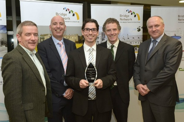 Wireless Sensor Networks group wins Bridge Network Invention of the Year