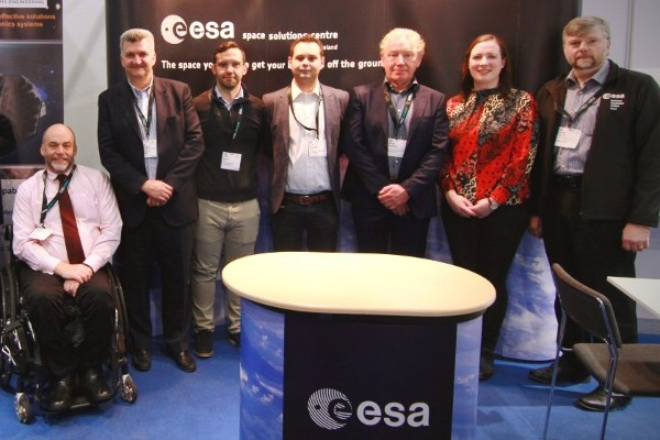 ESA Space Solutions Centre Ireland attends Space Tech Expo Europe in Bremen