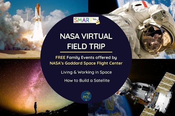 Tyndall PhD student brings free virtual NASA field trip to children