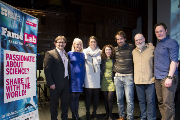 Tyndall set for famelab national finals