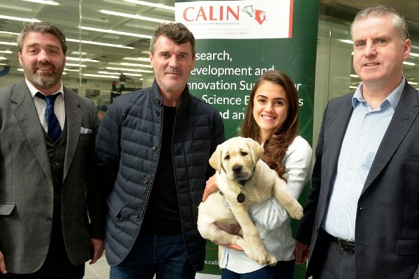 Tyndall supports Irish Guide Dogs for the Blind Heroes appeal as part of Guide Dog 4.0 project