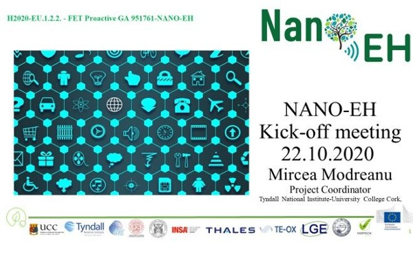 Newly launched FET Proactive project NANO-EH explores Smart Energy Harvesting for IOT