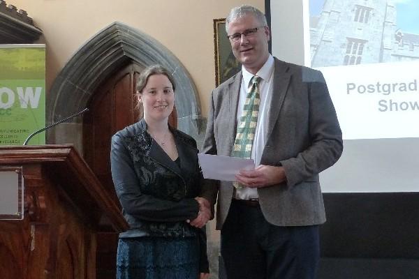 Postgraduate Research Showcase award winner