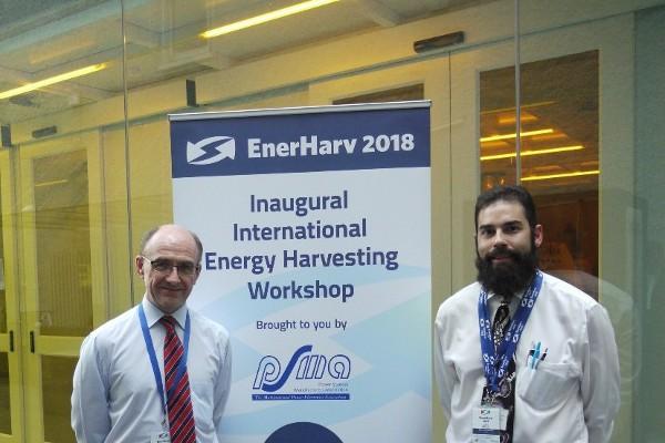 International Energy Harvesting Workshop, EnerHarv, opens at Tyndall