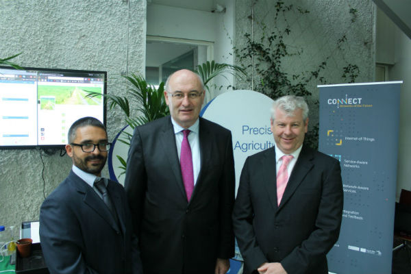 EU Commissioner Phil Hogan visits Tyndall