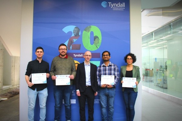 Tyndall Post-Grads Impress in the 2019 Postgraduate Paper Competition