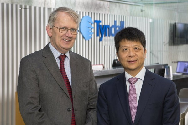 Tyndall welcomes Huawei Deputy Chairman and Rotating CEO, Guo Ping