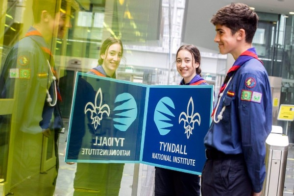 Tyndall and Scouting Ireland Launch Tyndall Scout Badge for John Tyndall Bicentennial