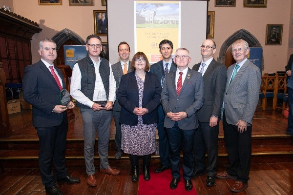 Tyndall winners at UCC Staff Recognition Awards 2019