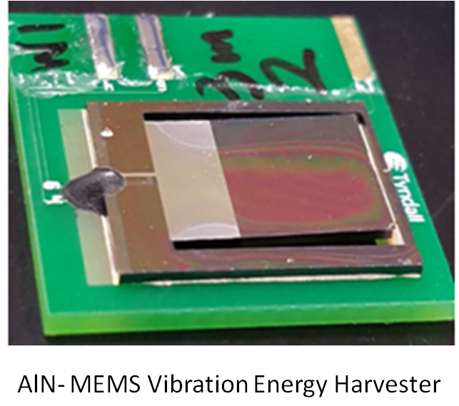 AIN-MEMS Vibration Energy Harvester